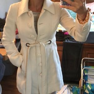 Off white Trench coat size small